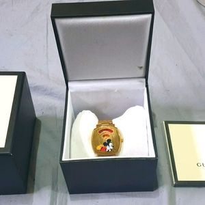 Gucci mickey mouse grip watch